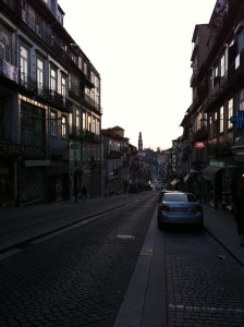 Steep Porto Street