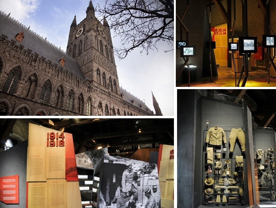 in flanders fields museum collage